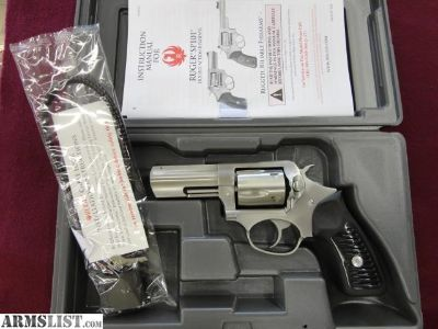 """For Sale: Ruger SP101 357mag. 3"""" Stainless"""