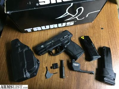 For Sale/Trade: Taurus G2 with fiber optic sights and laser