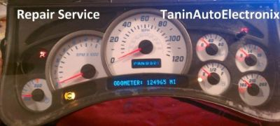 Find REPAIR SERVICE 2002, 2003, 2004, 2005, 2006 Hummer H2 GM GMC Speedometer Cluster motorcycle in Racine, Wisconsin, United States, for US $64.99