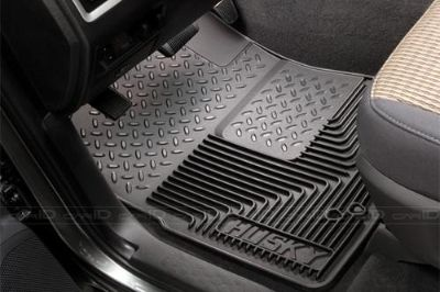 Purchase Husky Liners 51231 Ford Expedition Black Custom Floor Mats Front Set 1st Row motorcycle in Winfield, Kansas, US, for US $72.95