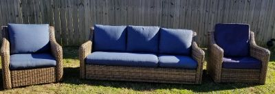 BH&G Hawthorne Parkway 3Pc Patio Set. 7 Mo's Old