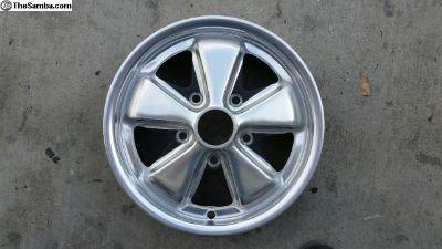 Porsche 911S 67S 4.5J X 15 fuchs wheel restored