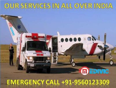 Medical Prepared Air Ambulance in Patna-Medivic Aviation