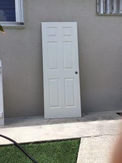 Interior doors and hurricane shutters