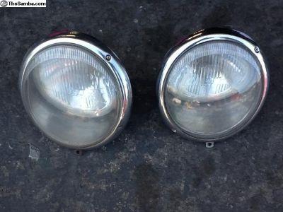 Hella head lights SB19 Hanline reflectors