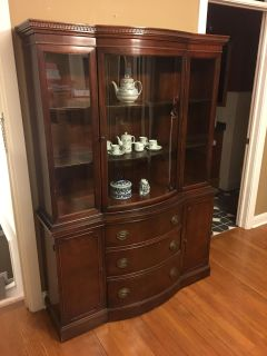 China Cabinet plus Tables