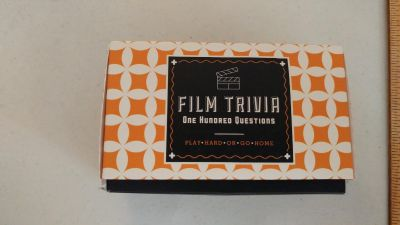 Film Trivia Cards - No instructions included