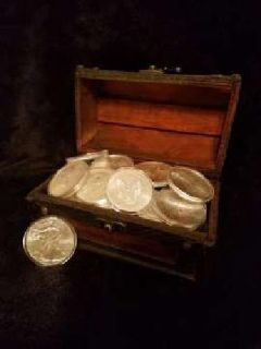 American Silver Eagles (random years) $23 ea
