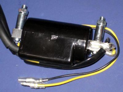 Purchase Ignition coil dual lead 12v volt Triumph T140 1973 74 75 76 77 48 79 80 750 650 motorcycle in Canyon Country, California, US, for US $49.00