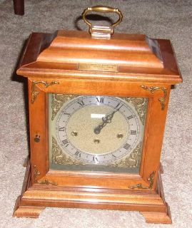 Rare - Vintage Seth Thomas American Motors Corp. Retirement Clock - 1982 with Westminster Chime