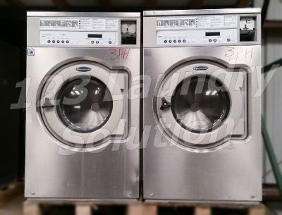 Wascomat Front Load Washer Coin-Op 30LB 3PH 220V E630 Stainless Steel Used