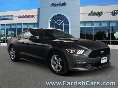 2016 Ford Mustang V6 (Magnetic Metallic)