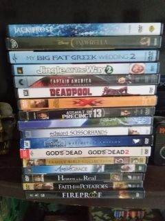 Alot of movies