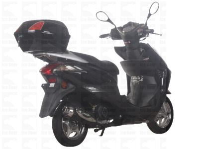 Scooter PMZ50-4 Metallic Black