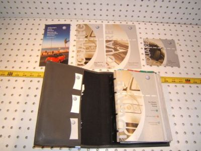 Find VW 2004 Touareg Owner manual's OEM 1 Booklet with Gray outer VW OEM 1 Case motorcycle in Roseville, California, United States, for US $122.00