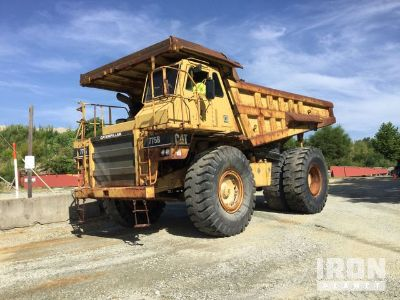 Cat 773B Off-Road End Dump Truck