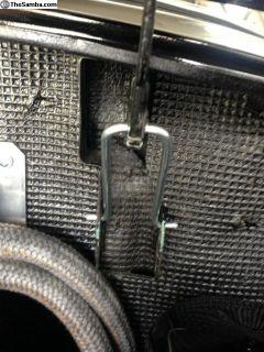 Ghia Engine Bay Deck Lid Hinges