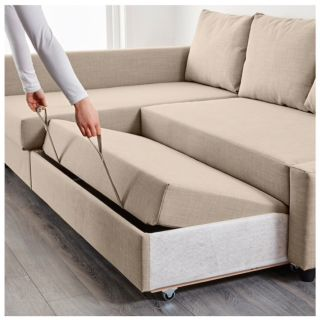 Friheten Sleeper Sectional Sofa