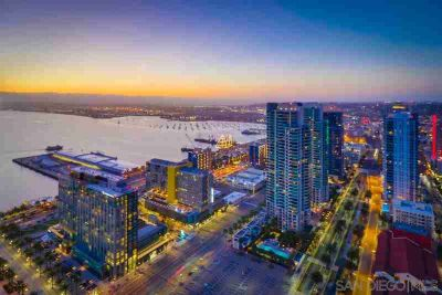 700 W E St #4102 San Diego Two BR, Highest condo for sale in !