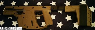 For Sale/Trade: Kriss Vector 9mm Gen2 FDE