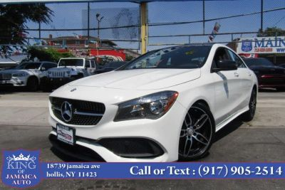 2017 Mercedes-Benz cla CLA 250 4MATIC Coupe (Cirrus White)