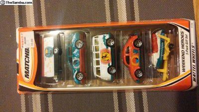 matchbox weekend heros box set