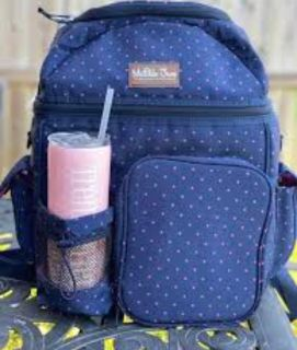 Brand New Matilda Jane Clothing Soft Summer Fun Isolated Backpack Cooler {never carried, just opened} see all pics!
