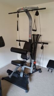 Bowflex resistance body building machine