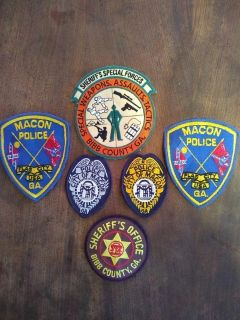 Lot of law enforcement patches