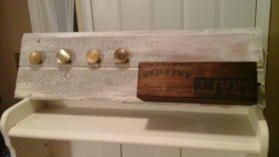 Barnwood Decor Pieces/Coat-Apron Racks