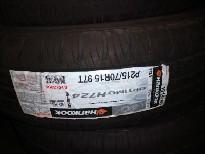 215/70r15 hankook tires set of 4