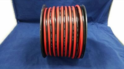 Sell 10 GAUGE PER 10 FT RED BLACK ZIP WIRE AWG CABLE POWER GROUND STRANDED COPPER CAR motorcycle in Mulberry, Florida, United States, for US $9.95
