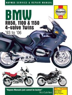 Buy Haynes Service Manual for BMW R850/1100-50, '95-'04 motorcycle in Ashton, Illinois, US, for US $40.95