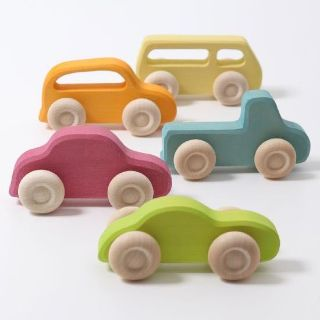 ISO toy wooden vehicles