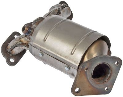 Purchase Exhaust Manifold with Integrated Catalytic Converter fits 02-06 MPV 3.0L-V6 motorcycle in Azusa, California, United States, for US $303.71