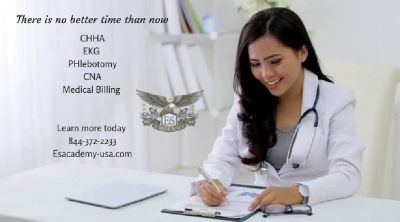 There is No Better Time Than Now! Medical Career Courses - Call Today