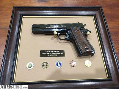For Sale: John Wayne 1911 .45 Commemorative made by Franklin Mint