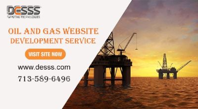 Oil and gas website development Houston