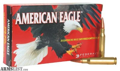For Sale: 800 rounds of Federal 62gr 223s
