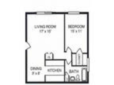 Riverwoods Apartments - One BR One BA - Garden Level