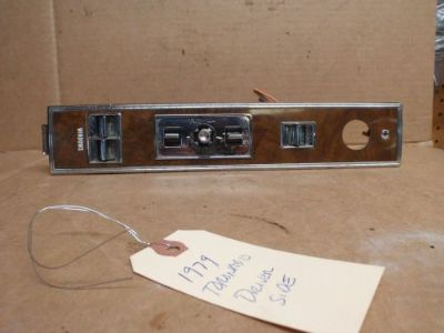 Find 1979 Oldsmobile Toronado drivers door power window control console switch Olds motorcycle in Kirkland, Washington, United States, for US $85.00