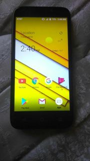 Zte cellphone like new Android 7
