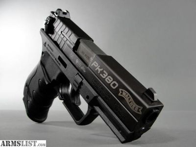 For Sale: Walther PK-380 (.380) Tactical Black - NIB