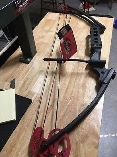 Genesis Pro Bow in Black and Red