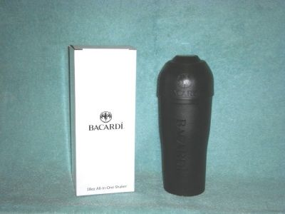 BACARDI ALL-IN-ONE DRINK SHAKER (NEW IN BOX)