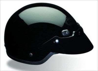 Purchase Bell Shorty Gloss Black Solid Open-Face Motorcycle Helmet Size X-Small motorcycle in South Houston, Texas, US, for US $69.95