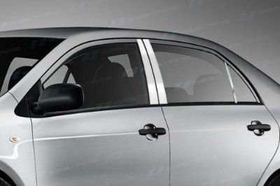 Buy SES Trims TI-P-171 03-07 Toyota Corolla Door Pillar Posts Window Covers Trim motorcycle in Bowie, Maryland, US, for US $63.70