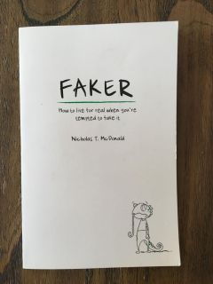 Very savvy interesting book about being authentic. We bought two for a school class by accident