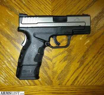 For Trade: Springfield xd mod 2 45 subcompact stainless