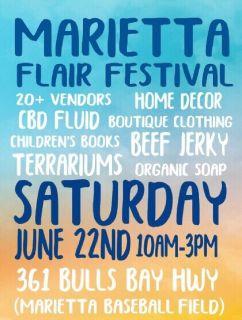 Marietta flair festival